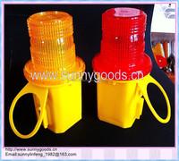 1 piece 4R25 6V Battery led traffic warning light