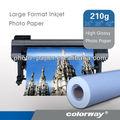 Dmc140 140 gsm de alto grado de papel tamaño de la foto de doble- lado de papel brillante