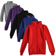 Plain Sweatshirts Sweat Jackets