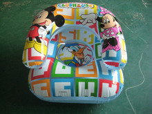 new design Mickey inflatable floating sofa for children