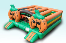 Popular Halloween Inflatable Pumpkin Maze