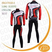 TEAM race and club long sleeved cycle jersey