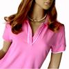 Fashion new design Ladies plain Polo Shirt