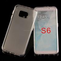 New Transparent Matte Candy TPU Cellphone Case For Samsung Galaxy S6 G9200