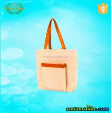plain reusable shopping cotton bag