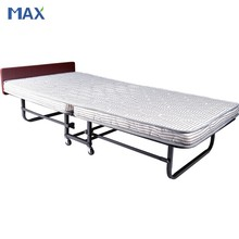 portable metal single folding cot bed for adult