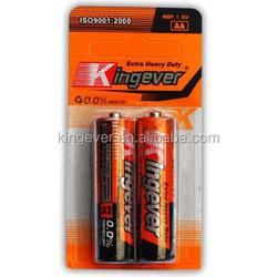 High Quality AA Super Heavy Duty Battery/R6 Battery