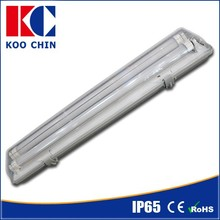 T8 Emergency Lighting 2*18W LED Triproof Tube to replace t8 fluorescent light