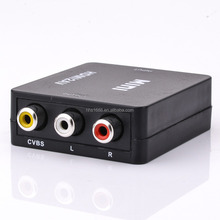 HHS hdmi to Composite converter CVBS RCA AV hdmi to composite convertor for NTSC PAL