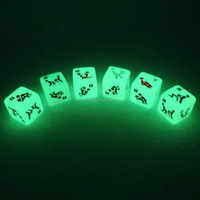 Wholesale Glowing Sex Dice Games/Adult Sexy Dice Toys