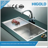 Utility high end best quality deep stainless steel decorated sinks