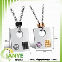 WHOLESALE charm pendants China JEWELRY laser engraved crystal pendant