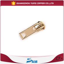 auto locking gold zipper slider