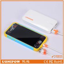 6000mah power bank phone battery charger for macbook pro /ipad mini/ipod