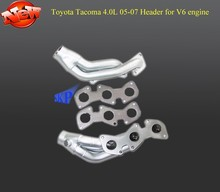 FOR 05-07 TOYOTA TACOMA -09 FJ CRUISER 4.0L V6 engine CERAMIC COATED EXHAUST MANIFOLD HEADER+GASKET(Fits: TOYOTA TACOMA)