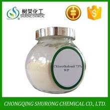 agrochemical fungicide chlorothalonil 98%TC 75%WP