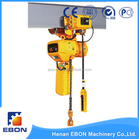 New Technology Electric Chain Hoist with Trolley for Sales