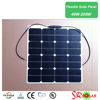 900*570*3mm Size And Monocrystalline Silicon Material Flexible Solar Panel 60Wp