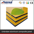 Alusign revestimento de paredes painel composto de alumínio acp 4 mm pvdf pintura
