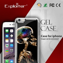 Exploiter custom smartphone cover for iphone6 cover wholesale crystal