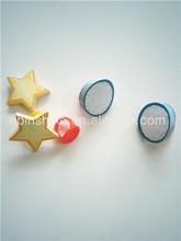Plastic Ring Toys With Sticky Note , Promotion Children Toy Ring