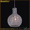 Fancy Design Lighting Crystal Metal Frame K9 Crystal Cover Pendant Light RT1350-1