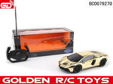 New arrival ! Plastic diy rc car kit gold edition packed in color box