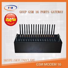 serial port gsm 3G modem for sending and receiving bulk sms/multi sim card gsm 3G modem 16 ports