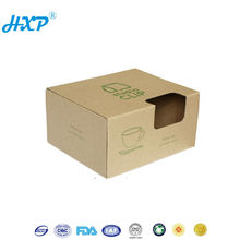 Cardboard box 3-Layer E-Flute Flexo 2013 newest design carton packing box with window