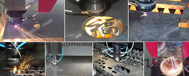 850W yag metal laser cutting machine