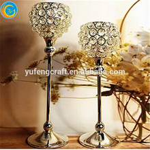 crystal ball candle holder crystal globe candle holder