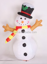 Air blown inflatables Funny christmas and halloween snowman Yard Decoration