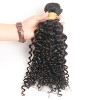 100% Unprocessed 8-30 inches 7a Grade Tangle Free Kinky Curly Human Hair, Human Hair Thailand