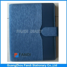 a5 pu leather notebook cover for crescent join texture diary