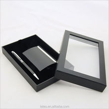 China manufacturer custom printed paper box ,Gift Set Men pen and Wallet Box