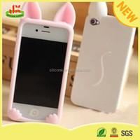 Cheap custom silicone rabbit prestigio mobile phone case