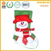 Wholesale cheap funny mini decorative felt christmas stocking
