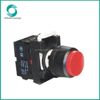 LA115-A1 series, 22mm CE elevator part 10A extended waterproof self-locking plastic push button switch