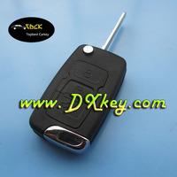 Best price 3 button flip key shell for geely car keys key geely
