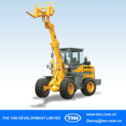 #12-5 crane pay high quality telescopic loader manufacturer
