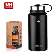 Naturehike-NH outdoor sports camping stainless steel sports bike bottle vacuum insulation cup thermos 900L two sizes