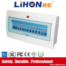 Easy install flush mount mcb plastic electrical box cover