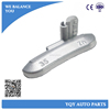 Zn casting/die costing clip on wheel balance weights