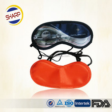 Sleeping eye mask for travelling/ high quality airline amenities eye mask