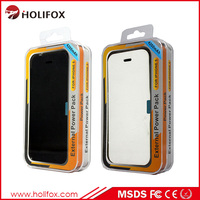 Original Designed 6 Colors Optional Battery Bank Power Case For Iphone For Iphone 5 Battery Case Silicone With Flip Cover