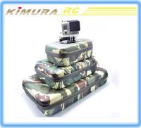 Waterproof Gopro EVA Case Gopro Hero3/4 Camera Bag Camouflage bag for Gopro Hero3/4 SJ4000 camera