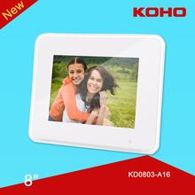 8 inch TFT LED happy memory digital photo frame