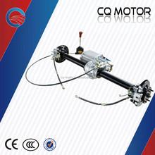 Big power electric car hydraulic disc brake PMSM gear motor transmission kit