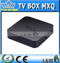 2015 New MXQ TV BOX MX Amlogic S805 Quad Core IPTV Android 4.4 TV box Kitkat 4K 1GB/8GB XBMC Load WIFI in stock