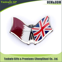 alibaba china best selling custom metal lapel national flag pin badges with butterfly clasp